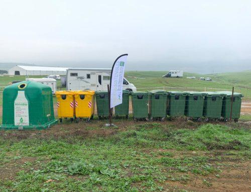 Refuerzo de contenedores en La Puebla de los Infantes gracias a Eventos Turísticos Sostenibles