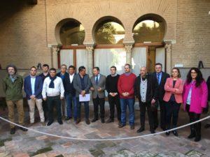 Alcaldes en Delgación del Gobierno de la Junta
