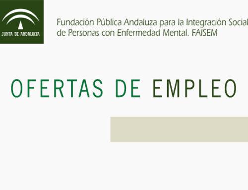 La Fundación para la Integración Social de Personas con Enfermedad Mental precisa de personal
