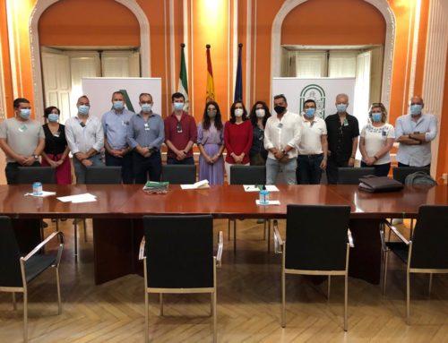 Reunión con la Delegación de Fomento para tratar el tema del autobús