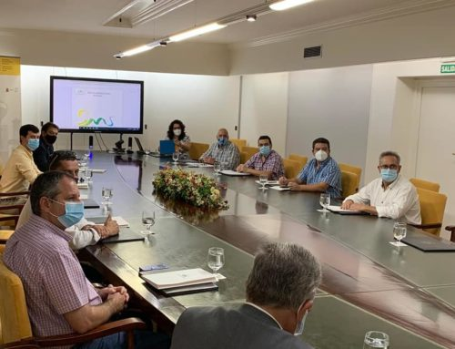 Los Alcaldes de la Sierra Morena se reúnen con el Director General contra la Despoblación