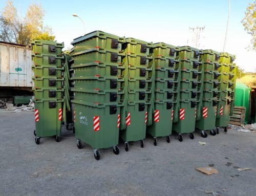 La Mancomunidad de Municipios Sierra Morena de Sevilla adquiere 102 nuevos contenedores