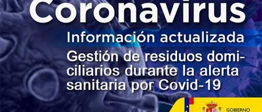 coronavirus gestión de residuos